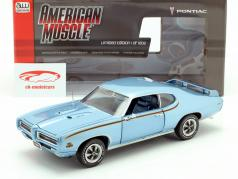 Pontiac GTO Judge year 1969 blue metallic 1:18 Autoworld