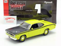 Plymouth Duster 340 year 1971 green / black 1:18 Autoworld