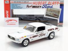 Ford Mustang S/S Cobra Jet Ano de construção 1968 50 Aniversário branco 1:18 Autoworld