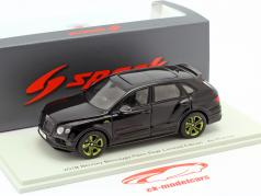 Bentley Bentayga Pikes Peak Limited Edition by Muliner 2018 black 1:43 Spark