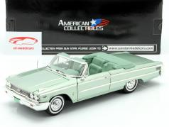 Ford Galaxie 500 XL Open Convertible 1963 mosgroen 1:18 SunStar