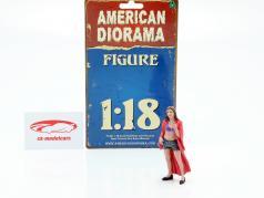 Partygängerin Figur #8 1:18 American Diorama