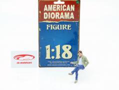 Sitting Lovers Figur #1 1:18 American Diorama