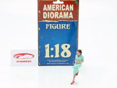 Sitting Lovers Figur #2 1:18 American Diorama