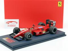 M. Alboreto Ferrari F1-87/88C #27 2nd Italian GP F1 1988 with showcase 1:18 LookSmart