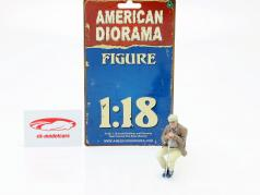 Zitten Oud Stel Figuur #1 1:18 American Diorama