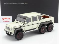Mercedes-Benz G63 AMG 6x6 year 2013 designo diamond white 1:18 AUTOart