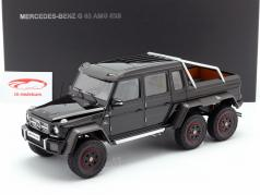 Mercedes-Benz G63 AMG 6x6 year 2013 gloss black 1:18 AUTOart