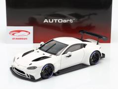 Aston Martin Vantage GTE LeMans Pro Plain Body Edition 2018 white 1:18 AUTOart