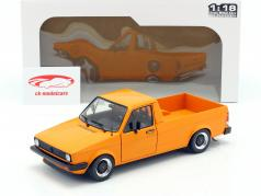 Volkswagen VW Caddy MK1 Baujahr 1982 orange 1:18 Solido