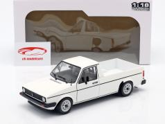 Volkswagen VW Caddy MK1 Année de construction 1982 blanc 1:18 Solido