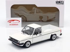 Volkswagen VW Caddy MK1 Ano de construção 1982 branco 1:18 Solido