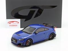 Audi TT RS Performance Parts 2018 azul metálico 1:18 GT-Spirit