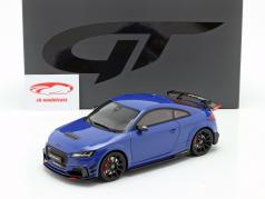 Audi TT RS Performance Parts 2018 blue metallic 1:18 GT-Spirit