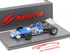 Jean-Pierre Beltoise Matra MS80 #18 4to Canadiense GP Formula 1 1969 1:43 Spark