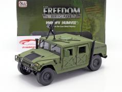 Humvee R-2 Military Vehicle olive drab 1:18 Autoworld