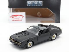 Tego's Pontiac Firebird 1977 Movie Fast & Furious IV (2009) black 1:24 Jada Toys