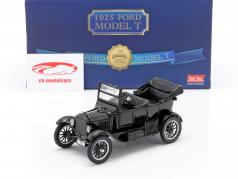 Ford Model T Année de construction 1925 avec 2 figurines Laurel & Hardy 1:24 SunStar
