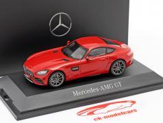 Mercedes-Benz AMG GT Coupe (C190) jupiterrot 1:43 Norev