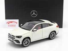 Mercedes-Benz GLE Coupe (C167) designo diamant wit bright 1:18 iScale