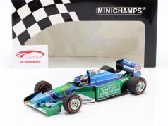 Mick Schumacher Benetton B194 #5 Demo Run GP Spa Formel 1 2017 1:18 Minichamps
