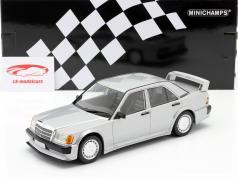 Mercedes-Benz 190E 2.5-16V Evo 1 1989 silber metallic 1:18 Minichamps