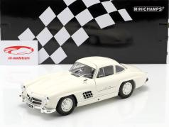 Mercedes-Benz 300 SL (W198) Gullwing year 1955 white 1:18 Minichamps