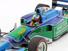 Mick Schumacher Benetton B194 #5 Demo Run GP Spa формула 1 2017 1:18 Minichamps