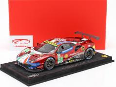 Ferrari 488 GTE #51 vincitore LMGTE-Pro classe 24h LeMans 2019 AF Corse 1:18 BBR