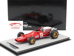 Chris Amon Ferrari 312/67 #8 3e Allemand GP Formule 1 1967 1:18 Tecnomodel