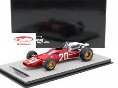 Chris Amon Ferrari 312/67 #20 3ro Monaco GP Formula 1 1967 1:18 Tecnomodel