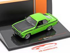 Opel Manta A GT/E Año de construcción 1974 verde / negro 1:43 Ixo