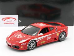 Ferrari F430 Challenge #14 year 2005 red 1:18 HotWheels