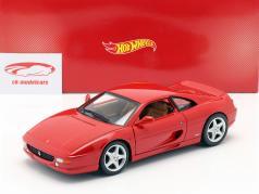 Ferrari F355 Berlinetta Bouwjaar 1994 rood 1:18 HotWheels
