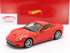 Ferrari California V8 年 2008 赤 とともに ハードトップ 1:18 HotWheels Foundation
