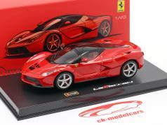 Ferrari LaFerrari 赤 / 黒 1:43 Bburago Signature