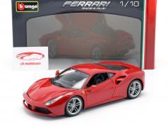 Ferrari 488 GTB red 1:18 Bburago