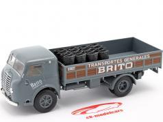 Pegaso I Camión plataforma Brito Año de construcción 1946 gris / marrón 1:43 Altaya
