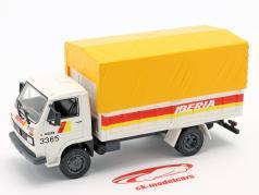 Pegaso Ekus 1210 LKW Iberia Baujahr 1986 weiß / gelb / rot 1:43 Altaya