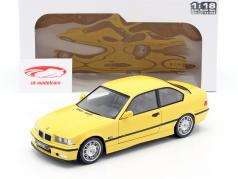 BMW M3 Coupe (E36) Год постройки 1994 Dakar желтый 1:18 Solido