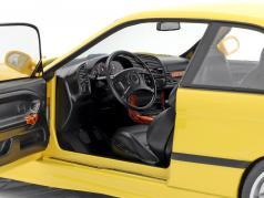 BMW M3 Coupe (E36) 建设年份 1994 Dakar 黄色的 1:18 Solido