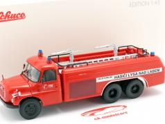Tatra T148 6x6 Feuerwehr Tschechien Baujahr 1968 rot 1:43 Schuco