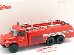 Tatra T148 6x6 Pompiers République tchèque Année de construction 1968 rouge 1:43 Schuco