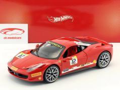 Ferrari 458 Italia Challenge #12 2011 rojo 1:18 HotWheels Heritage / 2. Elección