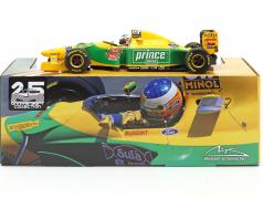 Michael Schumacher Benetton B193B #5 Monaco GP Formel 1 1993 1:18 Minichamps