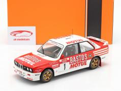 BMW M3 (E30) #1 7th Rallye Tour de Corse 1988 Beguin, Lenne 1:18 Ixo