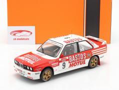 BMW M3 (E30) #9 4th Rallye Tour de Corse 1988 Chatriot, Perin 1:18 Ixo
