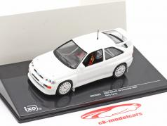 Ford Escort RS Cosworth 1994 Rallye Specs Plain Body Version branco 1:43 Ixo