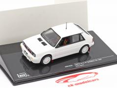 Lancia Delta HF Integrale 16V 1989 Rallye Specs Plain Body Version white 1:43 Ixo