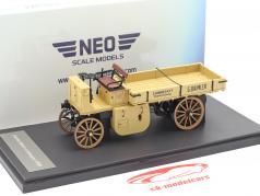 Daimler Motor-Lastwagen Baujahr 1898 beige 1:43 Neo